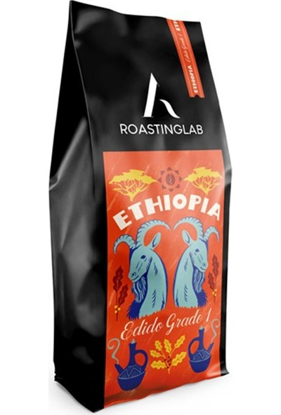 A Roasting Lab Ethiopia Edido 1000 gr Çekirdek