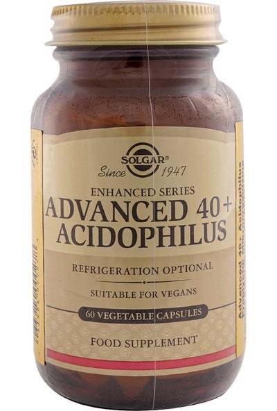 Solgar Advanced 40 + Acidophilus 60 Kapsül