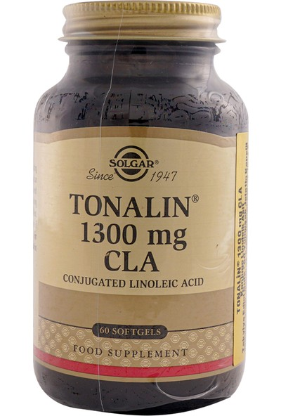 Solgar Tonalin Cla 1300 Mg 60 Kapsül