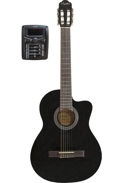 Midex Agostini HG-39 Profesyonel Sahne Elektro Klasik Gitar (Ekolayzer'li)
