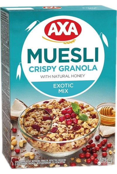 Axa Doğal Bal ve Exotic Mix - 375 gr