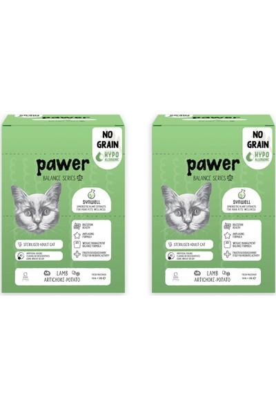 Pawer Balance Sterilised Tahılsız Hipoalerjenik Kuzu Etli ve Enginarlı Kısırlaştırılmış Kedi Maması 6 Kg (2 Adet 3 Kg)