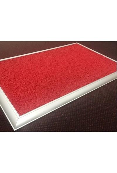 Karakuş Hijyenik Paspas Metal Tepsili Alüminyum Çerçeveli Paspas - 40X60CM