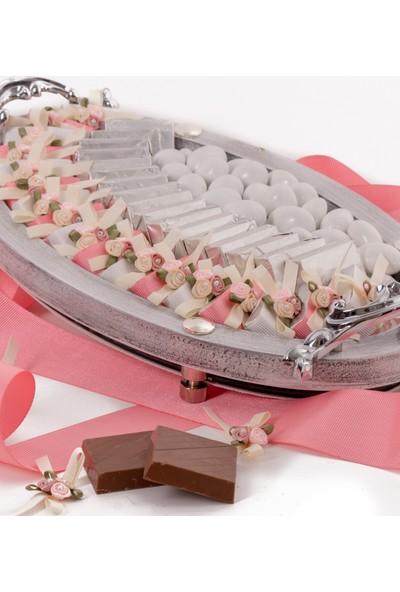 Ferlife Melek Beyazı Söz Nişan Çikolatası