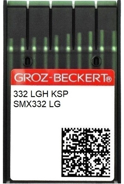 Groz Beckert Pfaff Düğme Dikiş Iğne/ 332 Lgh Ksp 18/110 100ADET