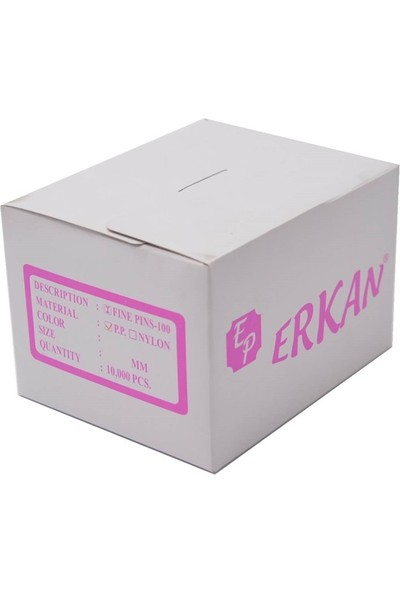 Erkan Etiketleme Makinesi 5mm Ince Siyah KILÇIK/10.000AD