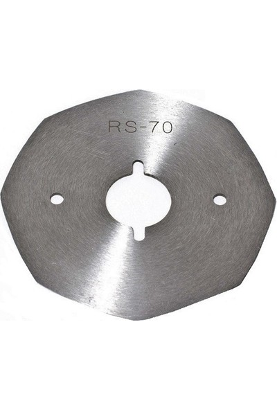 BDR Yuvarlak Kesim Motor 8 Köşe Bıçak / Rs-70(8)