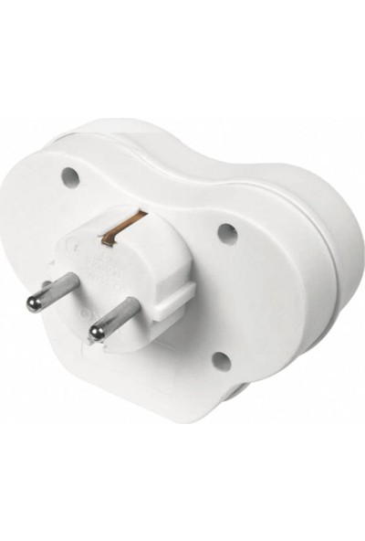 Viko İkili Topraklı 1 A Çift USB Çıkışlı Fiş
