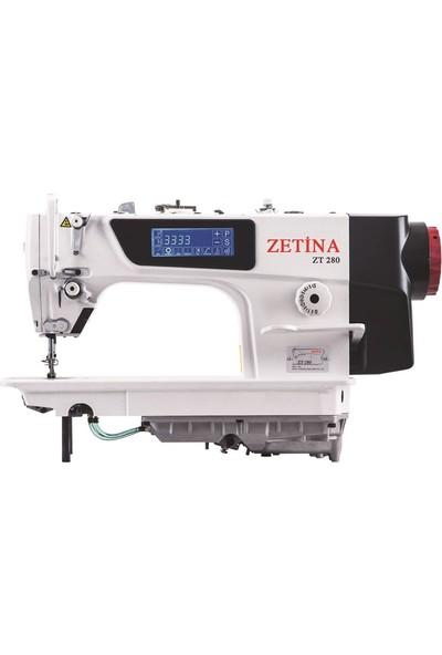 Zetina Düz Otomatik Elektronik Dikiş Makinesi/ Zt 280