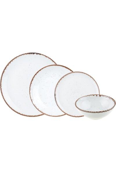 Bambum Granita 24 Parça Porselen Yemek Takımı