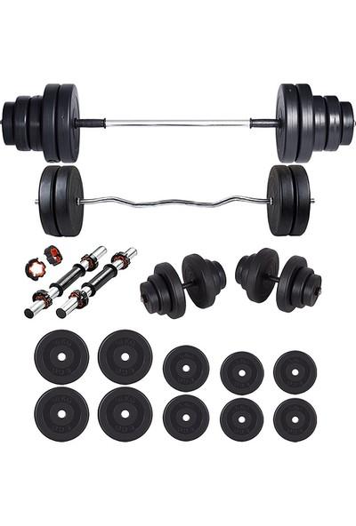Ecgspor Z Bar Halter Seti 68 kg