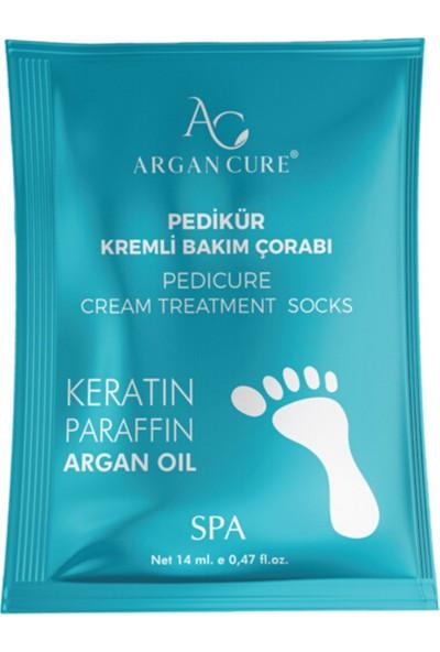 Argan Cure Pedikür Keratin Bakım Çorabı
