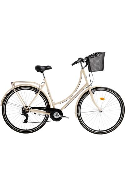 Bisan Paradise - S Şehir Bisikleti 2020 Üretim 28 Jant Krem