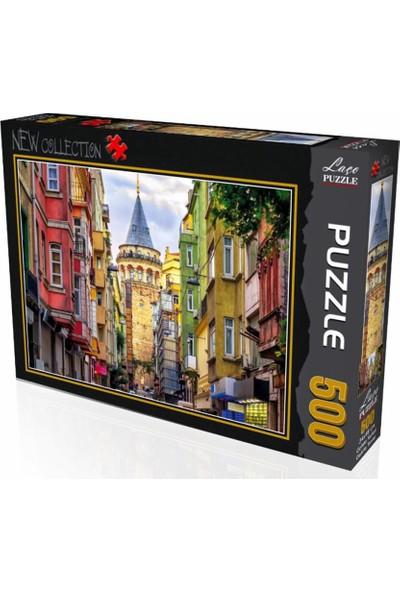 Laço Galata Kulesi 500 Parça Puzzle