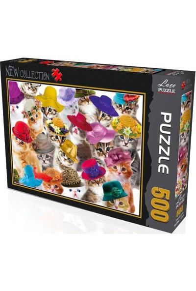 Laço Kediler 500 Parça Puzzle