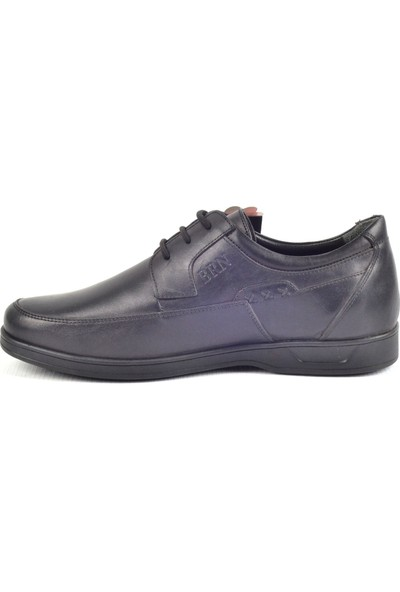 Berenni M069 Günlük Siyah Erkek Deri Ayakkabı