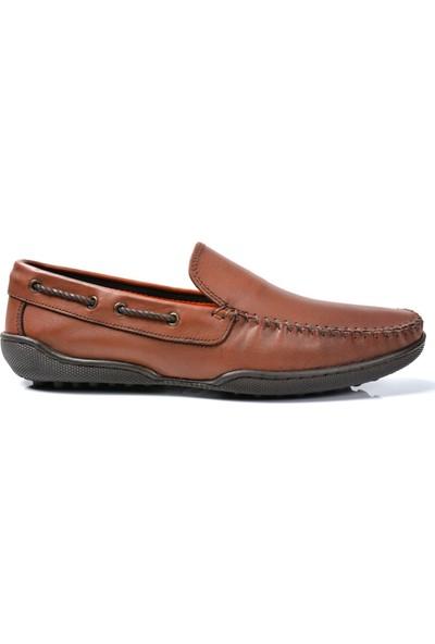 Mcp M-73322 Deri Taba Loafer Erkek Ayakkabı