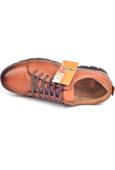 Mcp M-76133 Taba Kalın Taban Günlük Erkek Deri Ayakkabı