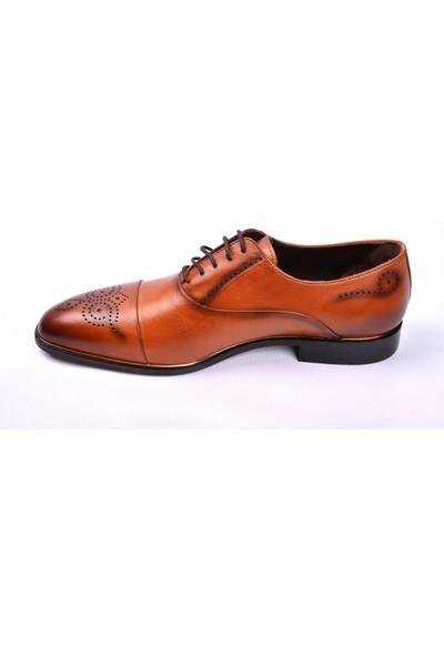 Paul Branco M- 65510 Taba Klasik Erkek Deri Ayakkabı