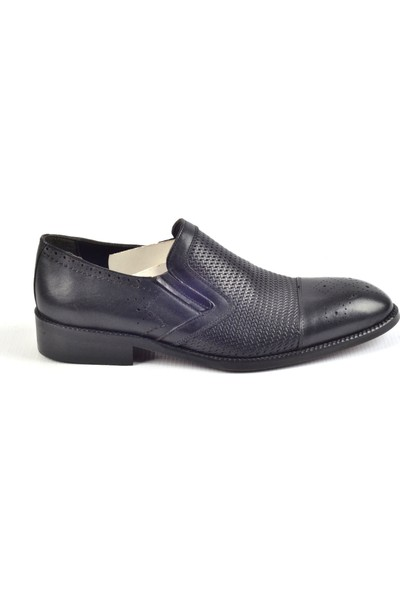 Paul Branco M-83104 Siyah Klasik Erkek Deri Ayakkabı