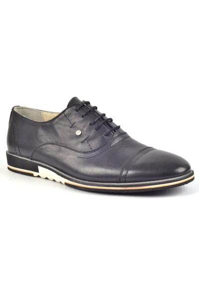Paul Branco M-83777 Siyah Klasik Erkek Deri Ayakkabı