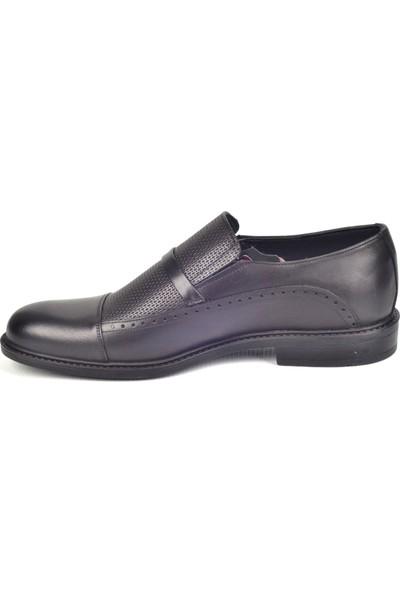 White World 1917 Siyah Klasik Erkek Deri Ayakkabı