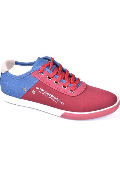 Owndays M-61079 Günlük Bordo Erkek Spor Ayakkabı
