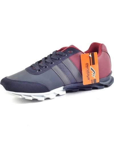 Owndays M-61530 Lacivert Günlük Erkek Spor Ayakkabı