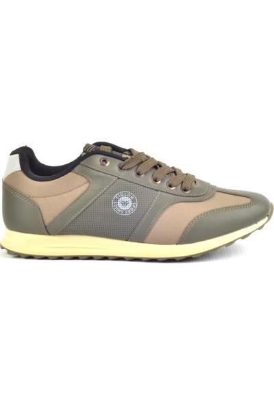 Tiglon M-81015 Haki Günlük Erkek Spor Ayakkabı
