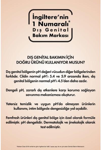 Femfresh Genital Bölge 25'li Islak Mendili x 2