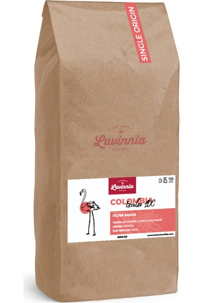 Lavinnia Colombia Excelso Ldc Yöresel Filtre Kahve 1 kg
