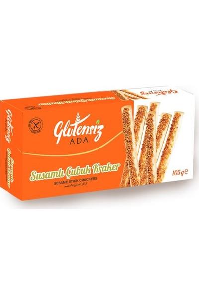 Glutensiz Susamlı Çubuk Kraker 105 gr
