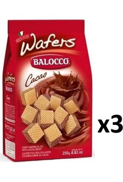 Balocco Fındıklı Gofret 250 gr x 3'lü
