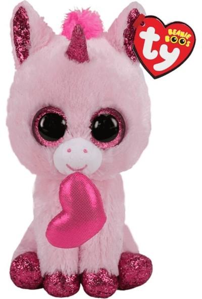 Ty Peluş Oyuncak Beanie Boo´s Darling Unicorn Valentine