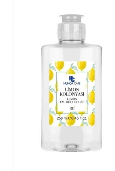 Hunca Care Limon Kolonyası 250 ml 80 Derece