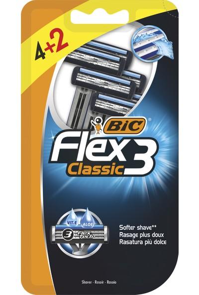 Bic Flex 3 Tıraş Bıçağı 4+2'li Blister