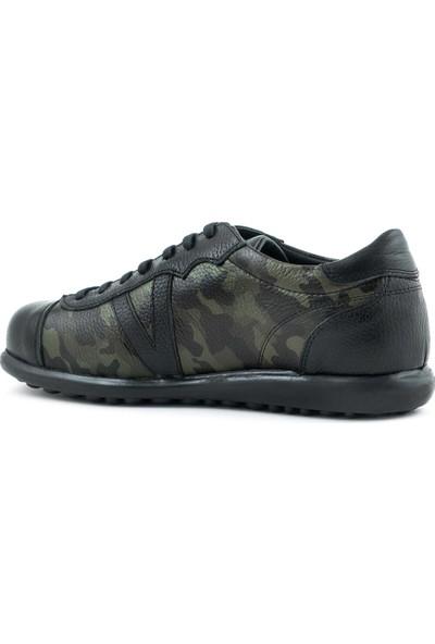 Kemal Tanca Deri Bağcıklı Erkek Günlük Ayakkabı C3