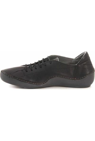 Rouge Deri Bağcıklı Kadın Günlük Ayakkabı 1502