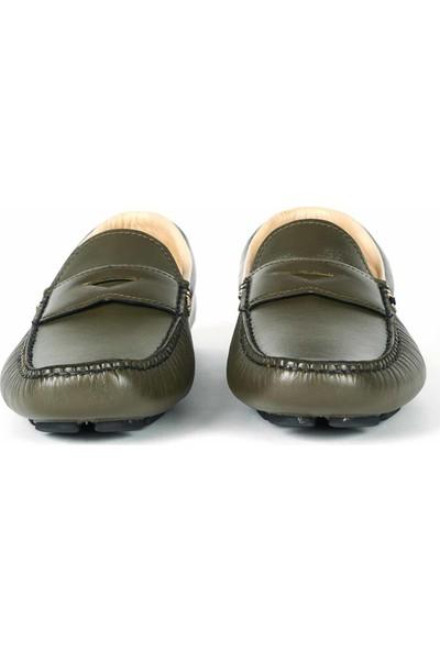 Mocassini Deri Bağcıksız Erkek Günlük Ayakkabı B3245