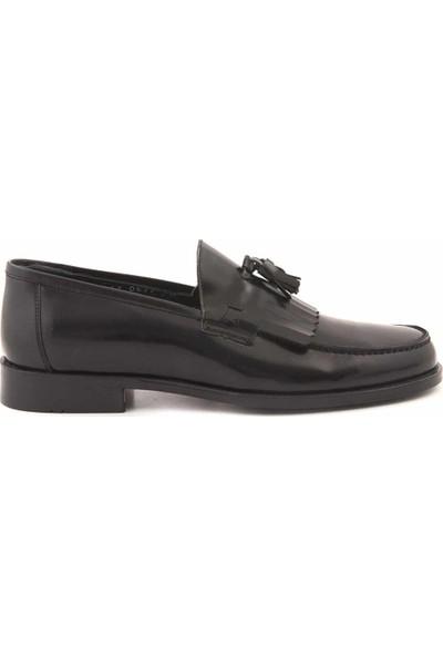 Kemal Tanca Deri Bağcıksız Erkek Klasik Ayakkabı 0137