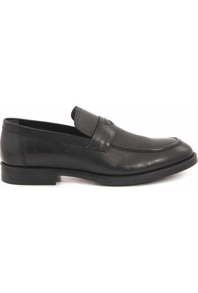 Kemal Tanca Deri Bağcıksız Erkek Klasik Ayakkabı 9021