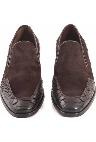 Mocassini Gold Deri Bağcıksız Erkek Klasik Ayakkabı 61319