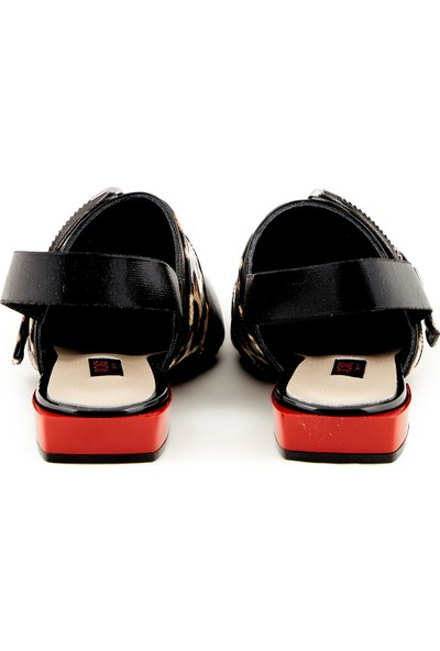 Rouge Deri Kadın Sandalet 362