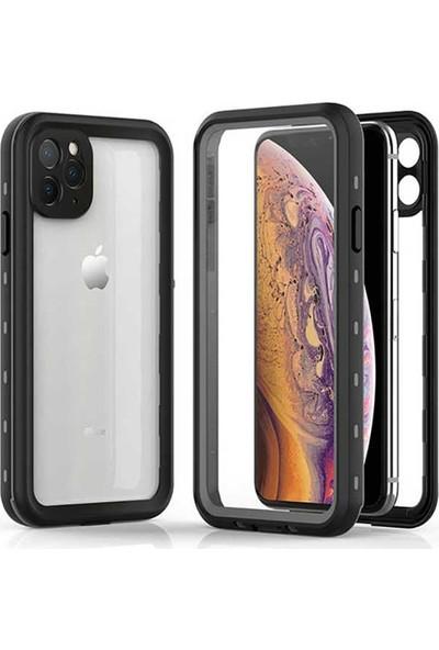 Teleplus Apple iPhone 11 Kılıf Çift Katmanlı 360 Profesyonel Su Geçirmez Siyah