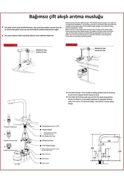 Sulook Su Arıtma Musluğu Soğuk - Sıcak Arıtma