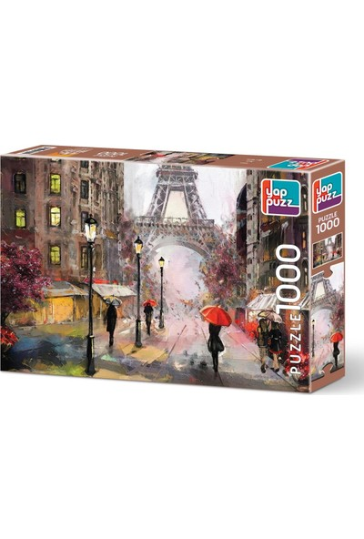 Yappuzz Paris Puzzle 1000 Parça