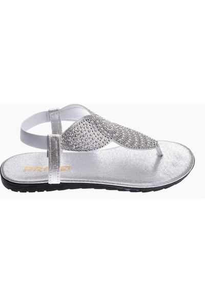 Ayakland Primo 12 Günlük Parmak Arası Kadın Cilt Sandalet