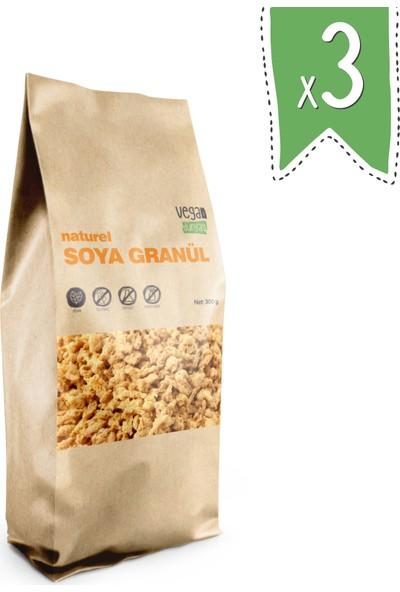 Vegan Dünyası Naturel Soya Kıyması 300 gr X3 Paket
