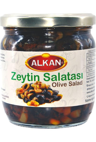 Alkan Zeytin Salatası