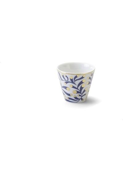 Bitossi Home Porselen Desenli Espresso Fincan